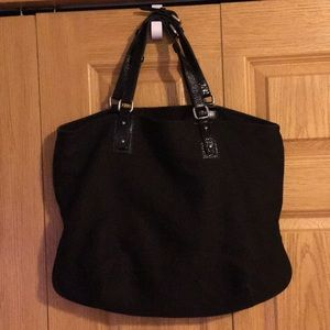 Club Monaco tote bag. Black.